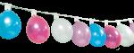 Guirlande support a ballons 1